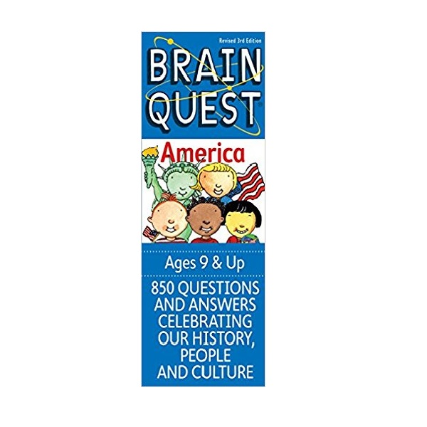 Brain Quest America (Paperback, 3th Cards Revised Edition)