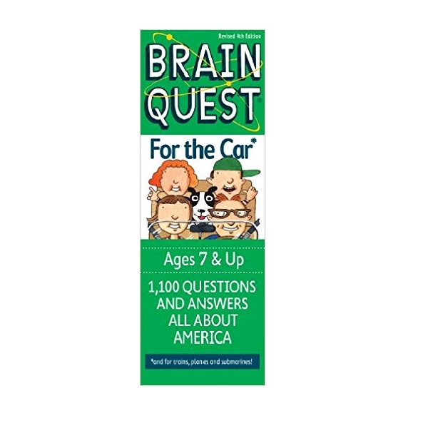 Brain Quest For the Car : 1,000 Questions And Answers All About America (Paperback, 4th Cards Revised Edition)