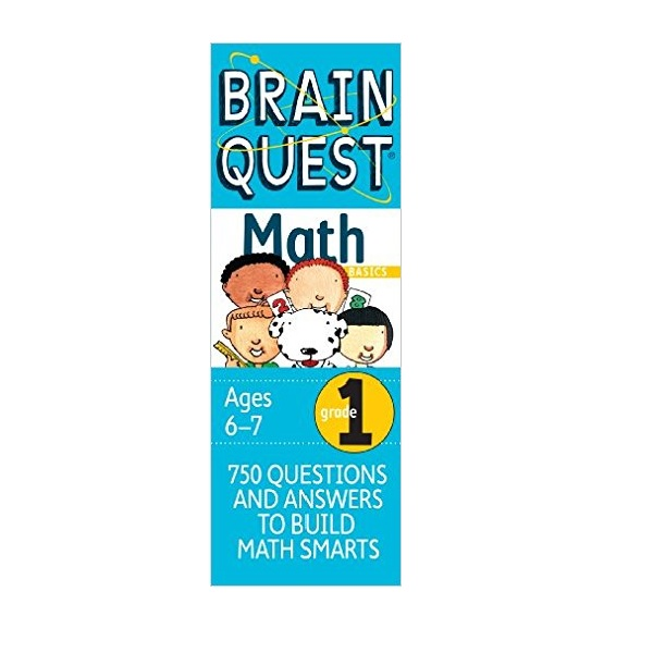 Brain Quest Math : Grade 1 Ages6-7 (Cards, 2nd Revised Edition)