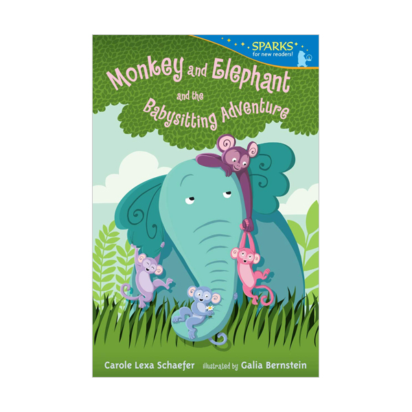 Candlewick Sparks : Monkey and Elephant and the Babysitting Adventure (Paperback)