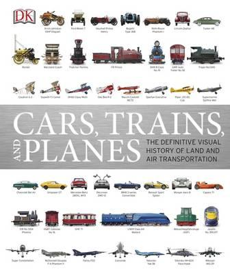 Cars, Trains & Planes (Hardcover, 영국판)