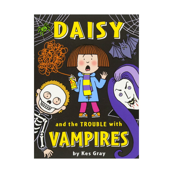 Daisy and the Trouble with Vampires (Paperback)