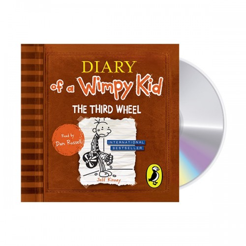Diary of a Wimpy Kid #7 : The Third Wheel (Audio CD,영국판)
