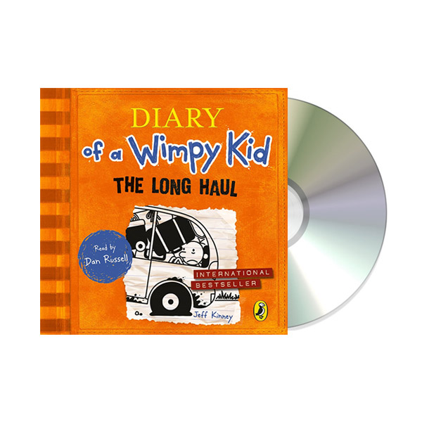 Diary of a Wimpy Kid #9 : Long Haul (Audio CD,영국판)
