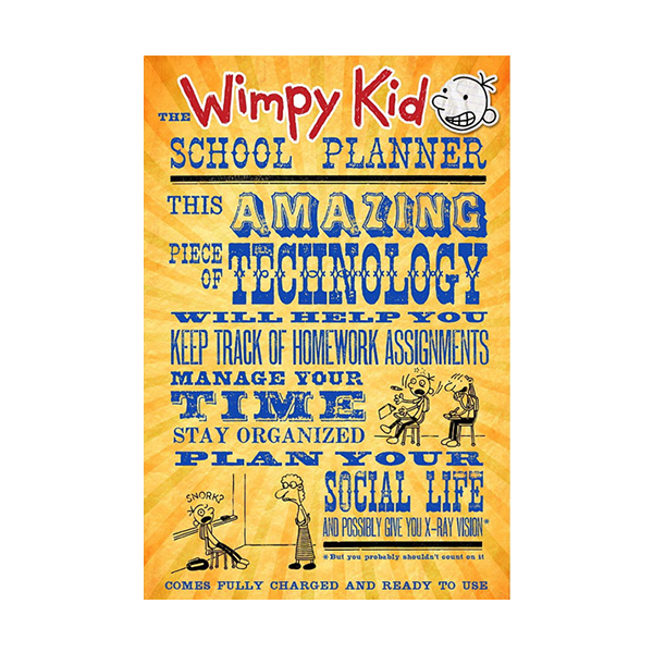 Diary of a Wimpy Kid : The Wimpy Kid School Planner (Paperback / Spiral-Bound)