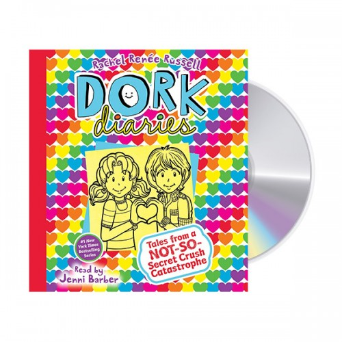 Dork Diaries #12 (Audio CD, Unabridged Edition) (도서미포함)