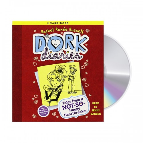 Dork Diaries 6 : Tales from a Not-So-Happy Heartbreaker (Audio CD, Unabridged Edition)