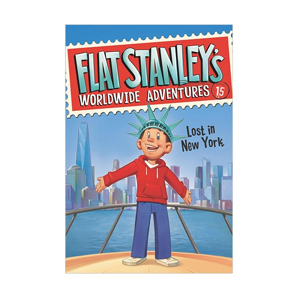 Flat Stanley's Worldwide Adventures #15 : Lost in New York (Paperback)
