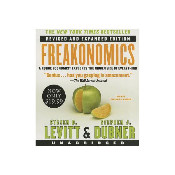 Freakonomics : Low Price CD (Audio CD, Revised, Unabridged)