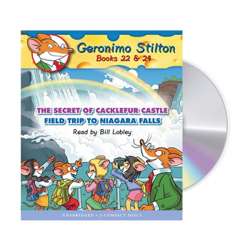 Geronimo Stilton #9 : Books 22,24 (Audio CD)