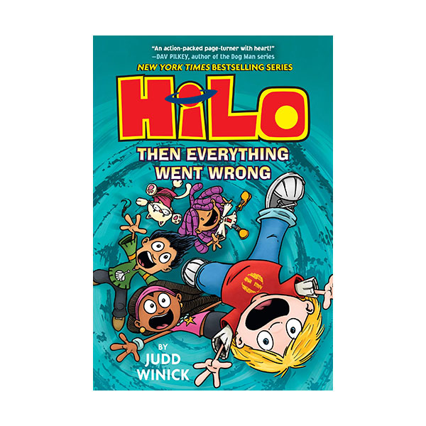 Hilo Book #05 : Then Everything Went Wrong (Hardcover)