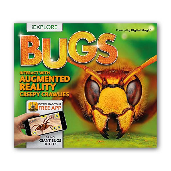 iExplore : Bugs : Augmented Reality Book (Hardcover, 영국판)