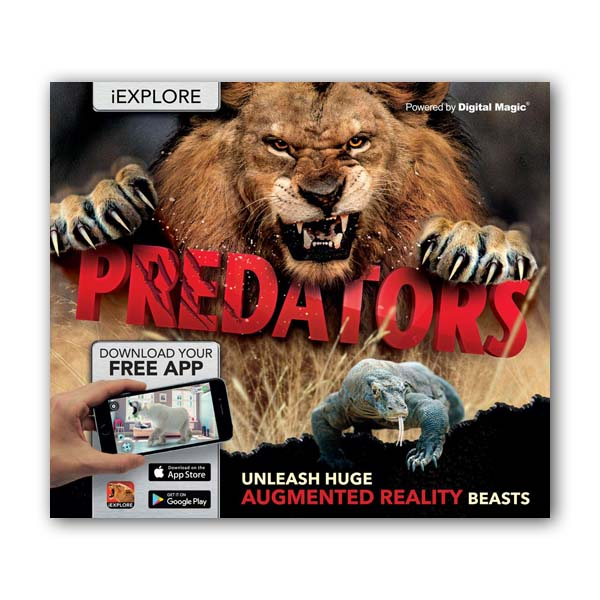 iExplore : Predators : Augmented Reality Book (Hardcover, 영국판)