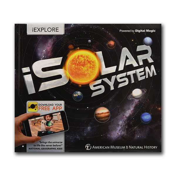 iSolar System : An Augmented Reality Book (Hardcover)