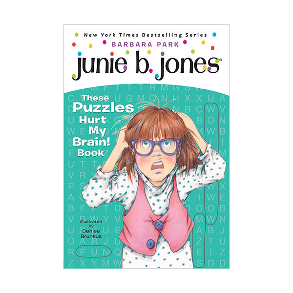 Junie B. Jones :  These Puzzles Hurt My Brain! Book (Paperback)