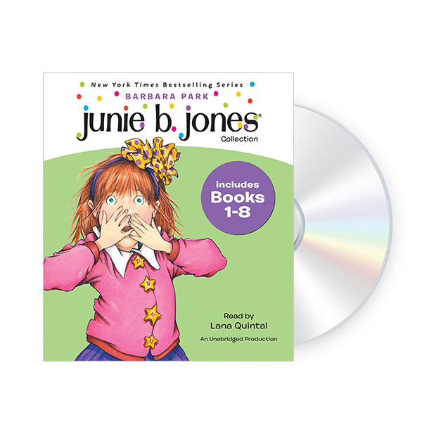 Junie B. Jones CD Edition #1 : Book 1-8 (Audio CD)