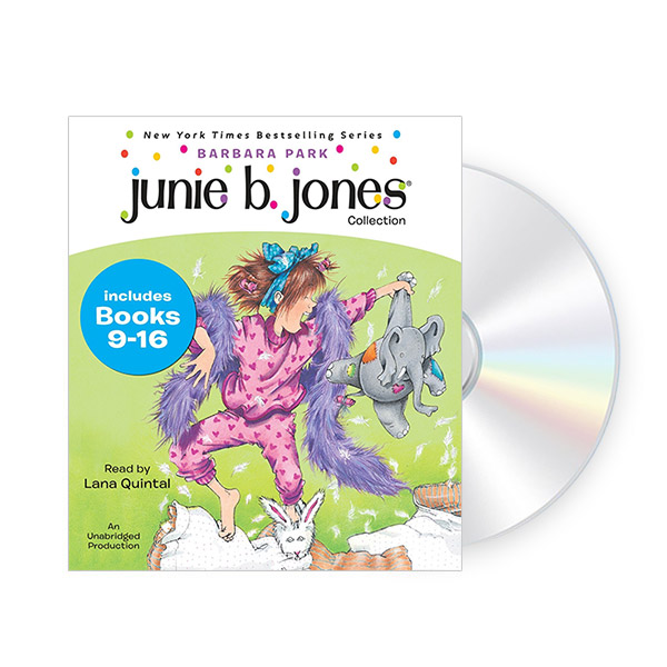 Junie B. Jones CD Edition #2 : Books 9-16 (Audio CD)