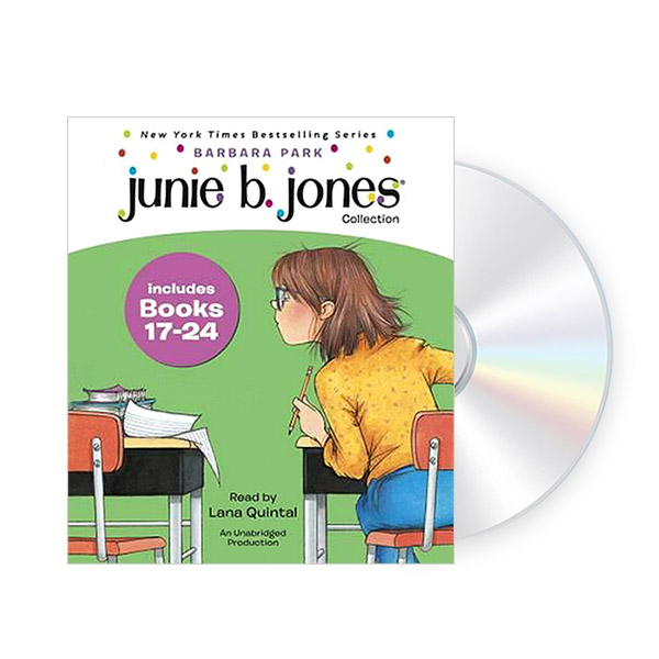 Junie B. Jones CD Edition #3 : Book 17-24 (Audio CD)