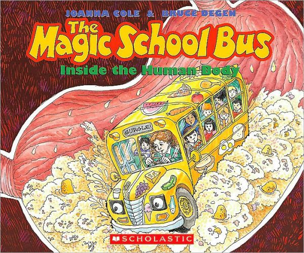 [스콜라스틱] Magic School Bus : The Magic School Bus Inside the Human Body (Book & CD)