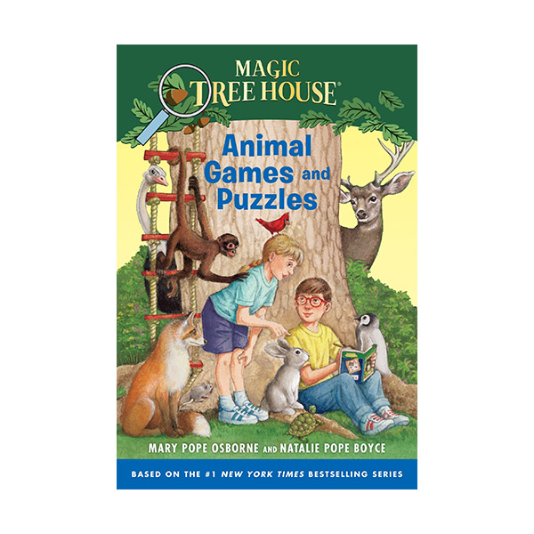 Magic Tree House : Animal Games and Puzzles (Paperback)
