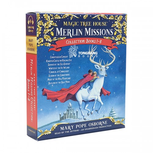Magic Tree House Merlin Missions Audio CD : Books #01-08 (도서미포함)