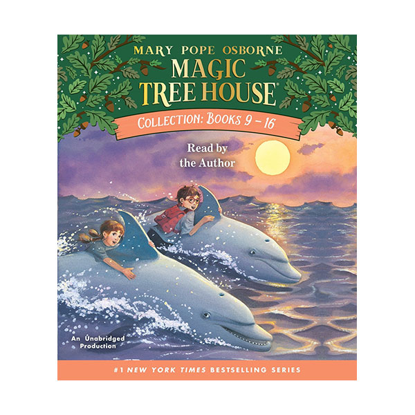 Magic Tree House Collection CD #2 : Books 9-16 (Audio CD)