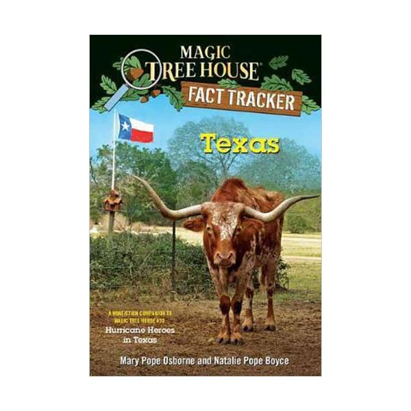 Magic Tree House Fact Tracker #39 : Texas (Paperback)
