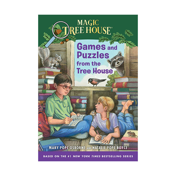 Magic Tree House: Games and Puzzles from the Tree House (Paperback)