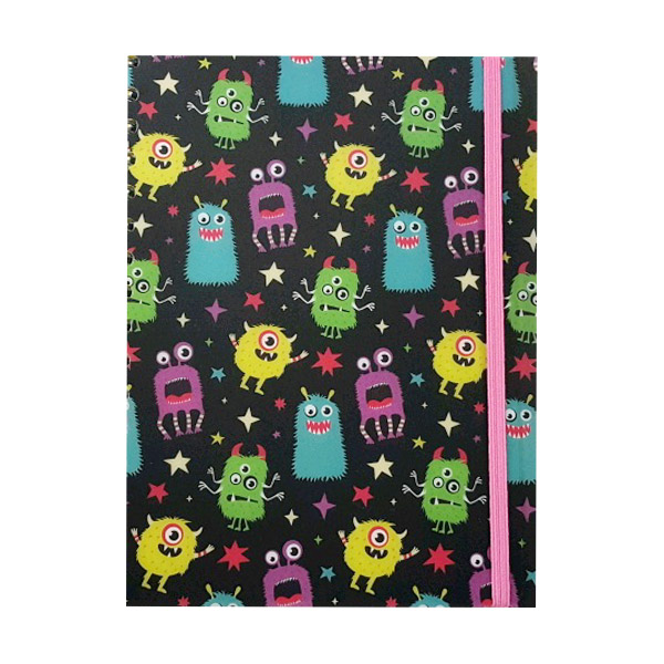 Monster A5 Polyprop Notebook With Dividers