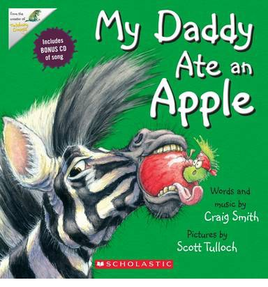 My Daddy Ate an Apple (Paperback & CD)