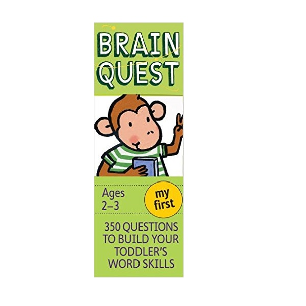 My First Brain Quest : 350 Questions and Answers to Build Your Toddlers Word Skills (Paperback, 4th Cards Revised Edition)