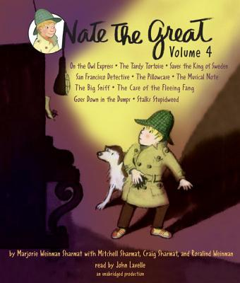 Nate the Great Collected Stories Volume 4 (Audio CD)
