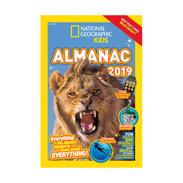 National Geographic Kids Almanac 2019 (Paperback)