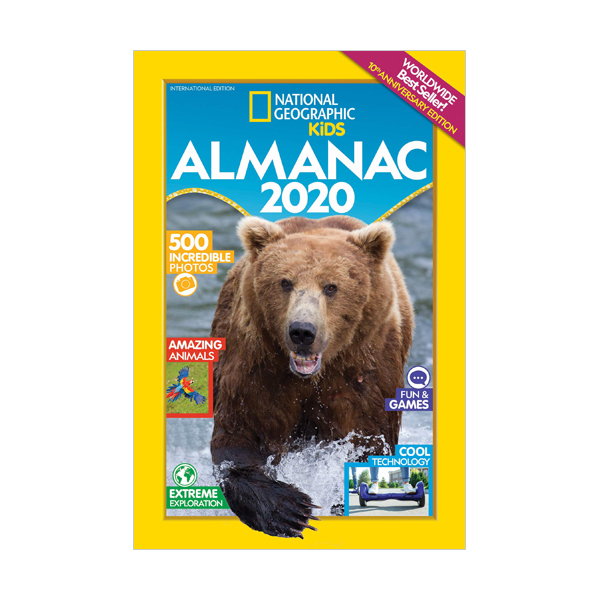 National Geographic Kids Almanac 2020 (Paperback)