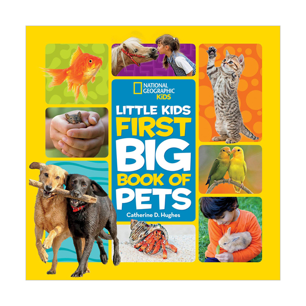 National Geographic Little Kids First Big Book of Pet (Hardcover)