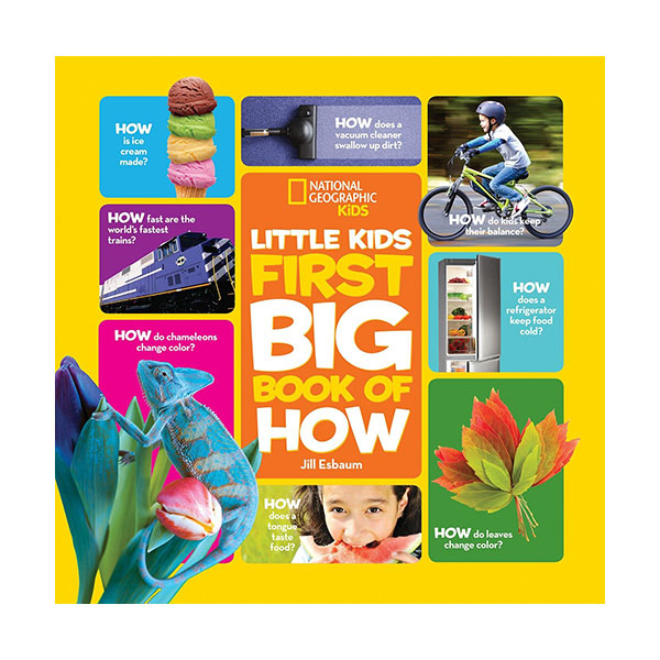 National Geographic Little Kids First Big Books of How (Hardcover)