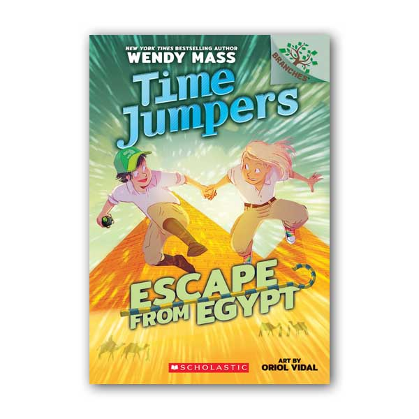Time Jumpers #02 : Escape from Egypt : A Branches Book (Paperback)