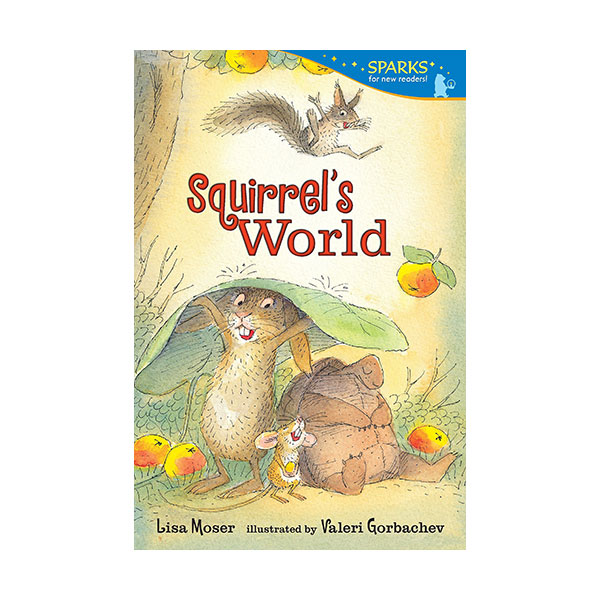 RL 2.0 : Candlewick Sparks : Squirrel's World (Paperback)
