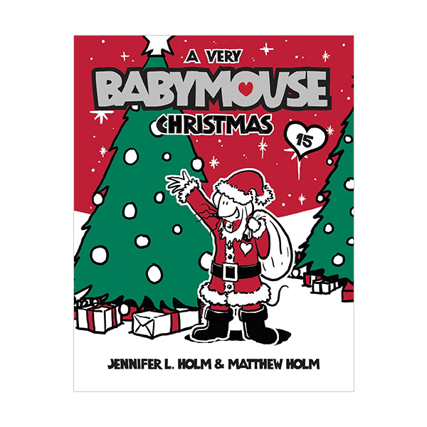 RL 2.1 : Babymouse #15 : A Very Babymouse Christmas (Paperback)