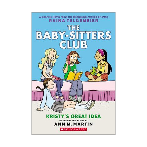[스콜라스틱] [넷플릭스] The Baby-Sitters Club #1 : Kristy's Great Idea (Paperback)
