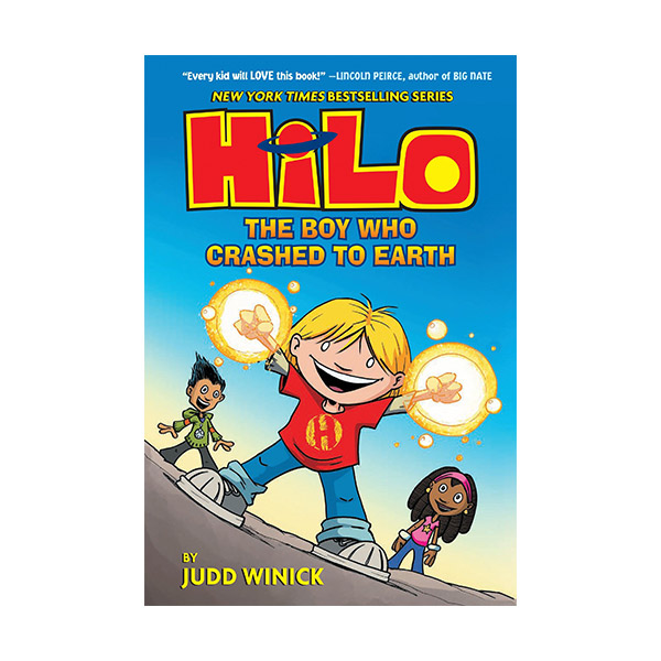 Hilo Book #01 : The Boy Who Crashed to Earth (Hardcover)