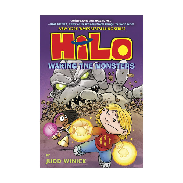 Hilo Book #04 : Waking the Monsters (Hardcover)