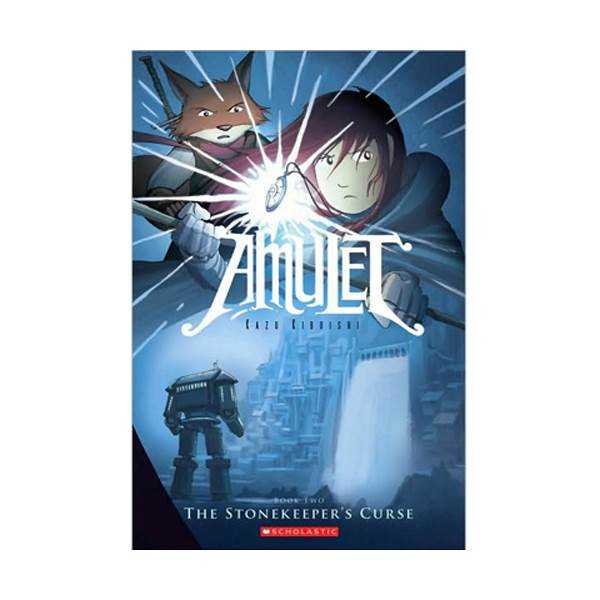 RL 2.5 : Amulet Series #2 : The Stonekeeper's Curse : Graphic Novels (Paperback)