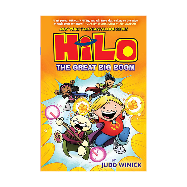 RL 2.5 : Hilo Book 3: The Great Big Boom (Hardcover)