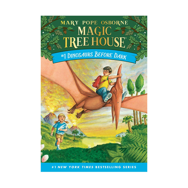RL 2.6 : Magic Tree House #1 : Dinosaurs Before Dark (Paperback)