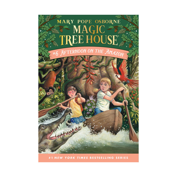 Magic Tree House #06 : Afternoon on the Amazon (Paperback)