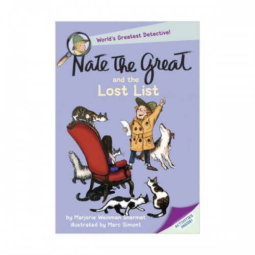 RL 2.6 : Nate the Great and the Lost List (Paperback)