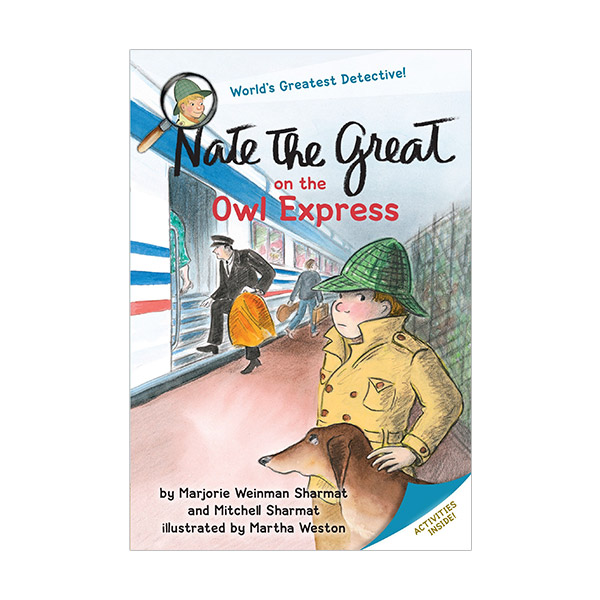 RL 2.6 : Nate the Great on the Owl Express (Paperback)