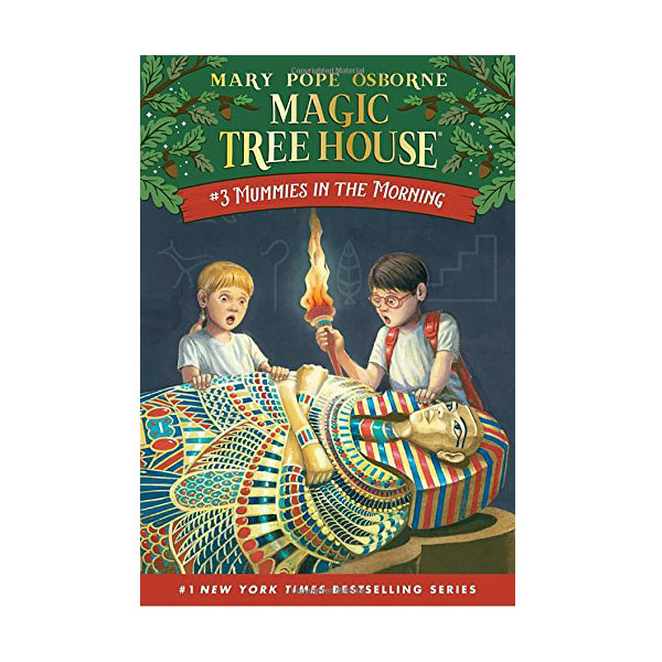 Magic Tree House #03 : Mummies in the Morning (Paperback)