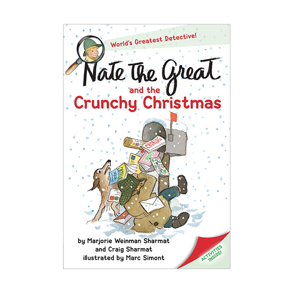 RL 2.7 : Nate the Great and the Crunchy Christmas (Paperback)